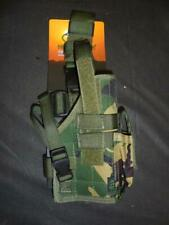Highlander R/H DPM Drop Leg Pistol Holster Molle Compatible Airsoft Paintballing