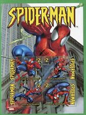 Saint Vincent 2003 MNH Spiderman sheet of 4 stamps