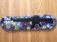 Hand painted one of a kind Skateboard Deck Vietnam, 60's hippie, M16 machine gun
