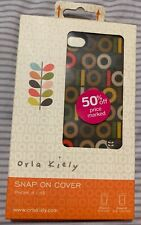 NEW - ORLA KIELY SNAP ON CASE COVER FOR APPLE IPHONE 4S / 4