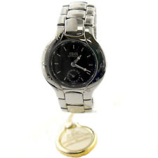 EBEL LICHINE 9963970 AUTOMATIC BLACK DIAL STAINLESS STEEL MENS WATCH
