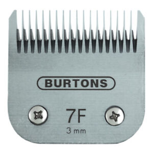 Burtons Blades - Size 7F 7FC - Fits Andis, Wahl, Oster, A5