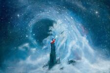 Mickey's Dream- Peter Ellenshaw -Limited Edition Giclee On Canvas