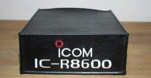 ICOM IC-R8600 HAM RADIO DUST COVER  ICOM LOGO APPROVAL DXCOVERS