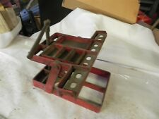 VINTAGE GM DEALER BORROUGHS TOOL STAND/LIFT 1940-50S ENGINE TRANS SUSPENSION WOW