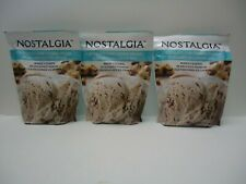 Lot of 3 Nostalgia Chocolate Chip Cookie Dough Ice Cream Mix 6 Quarts