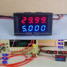 DC 0-500V 10A Digital LED Voltmeter Ammeter Amp Volt tester Meter shunt 12v 24v