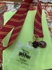The Wizarding World Of Harry Potter Universal Studios Lanyard With Frog /witch