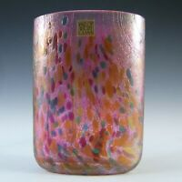 Isle of Wight Studio 'Summer Fruits' Cranberry Glass Vase