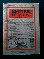 EMPIRE REVIEW AND MAGAZINE BOOK 1934