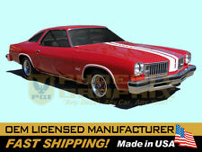 1975 GM Oldsmobile 442 W29 Paint Stencil Decals Stripes Kit Y73 Hood (non-AI)