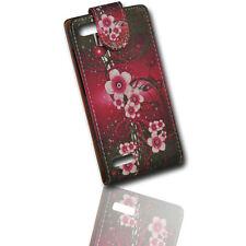 Design Flip Style Handy Tasche Cover Case Hülle Etui Schutz Schutztasche  - RNF