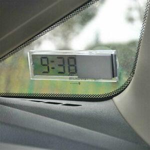 Car Clock Digital Auto Van Clock LCD Digital Display Mini Portable Room Timer UK