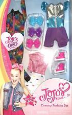 Jojo Siwa JoJo's Closet Dreamy Fashion Set 3 Piece Outfit Shoes and Bowes