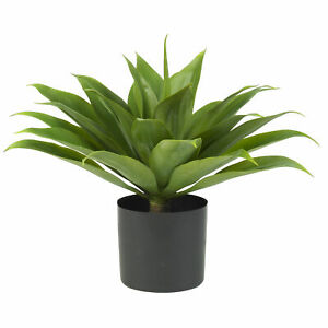 Agave Silk Plant Sharply Pointed Leaves Nearly Natural Home Garden Decoration