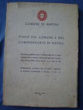 COMUNE DI NAPOLI-RELAZIONE PIANO REGOLATORE NAPOLI-LEGGE 167/1963-GIANNINI-1964