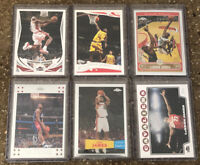 2004-08 Topps/Topps Chrome LeBron James Lot. All Great PSA Potential!