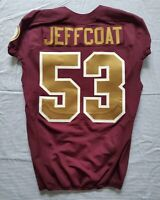 #53 Jackson Jeffcoat of Redskins NFL Locker Room Game Issued Alternate Jersey
