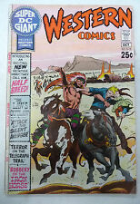 super dc giant  western comics 15 dc comics 1970 joe kubert neal adams...etc