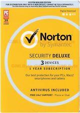 Symantec Norton internet security standard premium 1 2 3 5 PC AntiVirus 2017