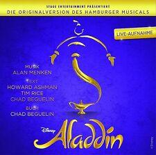 MUSICAL-ORIGINAL CAST - ALADDIN-ORIGINALVERSION DES HAMBURGER MUSICALS  CD NEW+