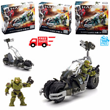 Mega Bloks Halo Figure UNSC Jackrabbit Blitz Set New Action Building Toy DPJ90