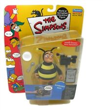 The Simpsons Bumblebee Man Interactive World of Springfield Playmates Series 5