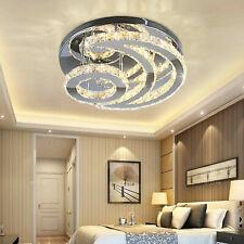 Crystal LED Ceiling Light Fixture Chandelier Lighting Modern Pendant Lamp Indoor