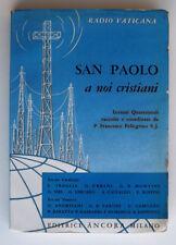 R64 - SAN PAOLO A NOI CRISTIANI - Radio Vaticana Lezioni Quaresimali 1961