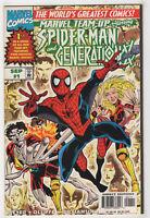 Marvel Team-Up #1 (Sep 1997) [Spider-Man, Generation X] Tom Peyer Pat Olliffe p