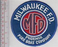 Fire Boat Milwaukee Fire Department Phoenix Fireboat Company Engine 15 Wisconsin