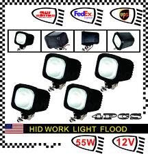 "4pcs 55W 24V 4"" HID Xenon Work Light Bar Flood ATV Offroad Fog 4 X 4 Truck UTE"