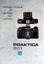 PRAKTICA BC 1 Perfekte Technik für perfekte Aufnahmen Prospekt brochure (0406)