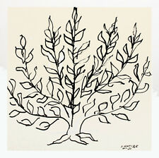 Henri Matisse - Le Buisson - Serigraph Art Print 27.5x27.5