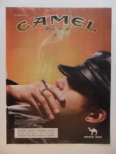 2005 Print Ad Camel Cigarettes ~ Pleasure to Burn Leather Hat