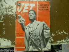VINTAGE JET MAG -8/9/62- Earle Hyman for Othello/JFK's Medicare Plan/MLK Jr.