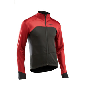 NORTHWAVE Chaqueta Reload Prot. Selectiva RED/BLACK H19-89191272-32