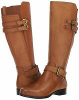 Naturalizer Womens Jessie Closed Toe Over Knee Fashion Boots, Brown, Size 7.5 C3