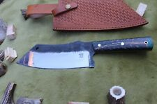 HANDMADE 13.5 INCH HUNTING  BIG HUNTER CAMPING KNIFE 1095 STEEL RESIN HANDLE