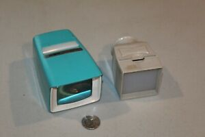 Argus Previewer III Powder Blue & 35mm Slide Viewer VTG handheld
