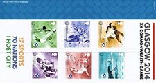Glasgow 2014 XX Commonwealth Games Royal Mail Mint Stamps Presentation Pack #5