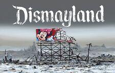 JEFF GILLETTE Dismayland Signed ed. of 30 print Banksy Dismaland Disney minnie