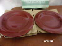 4 Christopher Lowell TABLE ESSENTIALS SALAD PLATES NEW IN BOX
