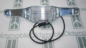 1968-1972 Oldsmobile Cutlass 442 F85 Toro Rear License Plate Lamp Light Assembly