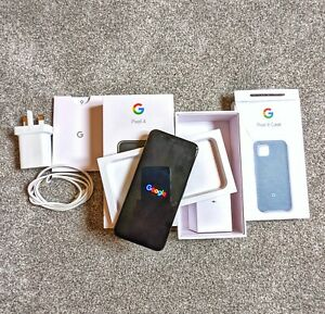 Google Pixel 4 G020M - 64GB - Just Black (Unlocked) (Single SIM)