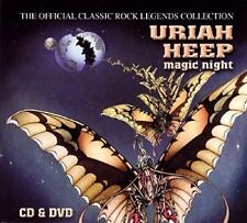 Slip Double Uriah Heep Magic Night CD & DVD Live 2003 John Lawton