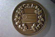 1861-1865  C.S.A. Confederate Civil War Bronze Commemorative Token