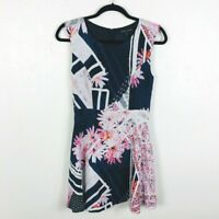 French Connection Size 4 / Small Sleeveless Dress Floral Samba Avenue Fit Flare