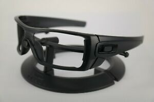 NEW Oakley BATWOLF Matte Black Ink Frame - Black Icon OO9101 ONLY FRAME Genuine