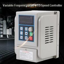 220V Variable Frequency Drive VFD Speed Controller for Single-phase 1.5kW Motor